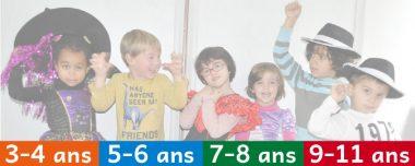 3 à 11 ans